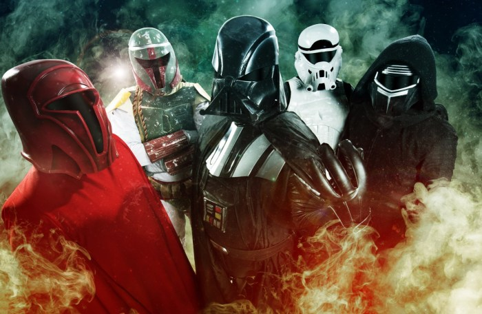 Galactic Empire- 7 Geeky Rock Bands