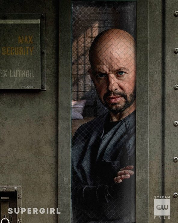 CW Reveals First Look at Jon Cryer as Lex Luthor on Supergirl