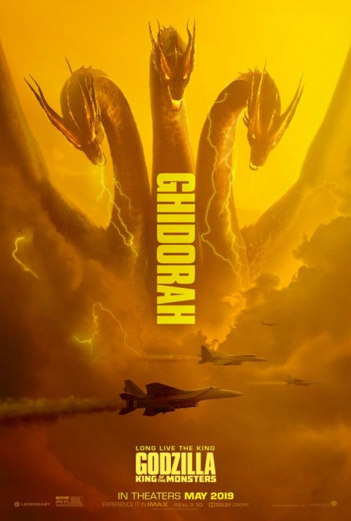 King Ghidorah- Godzilla Franchise Monsters