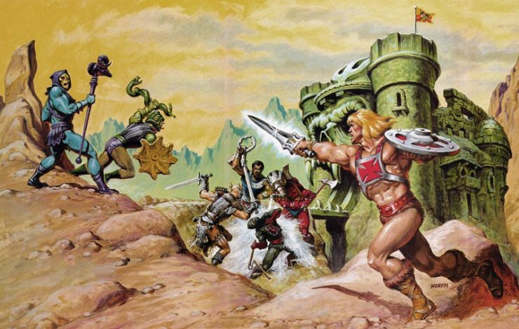 Sony's MOTU Film Finds Writers