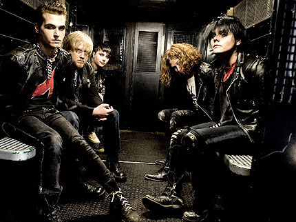 My Chemical Romance- 7 Geeky Rock Bands