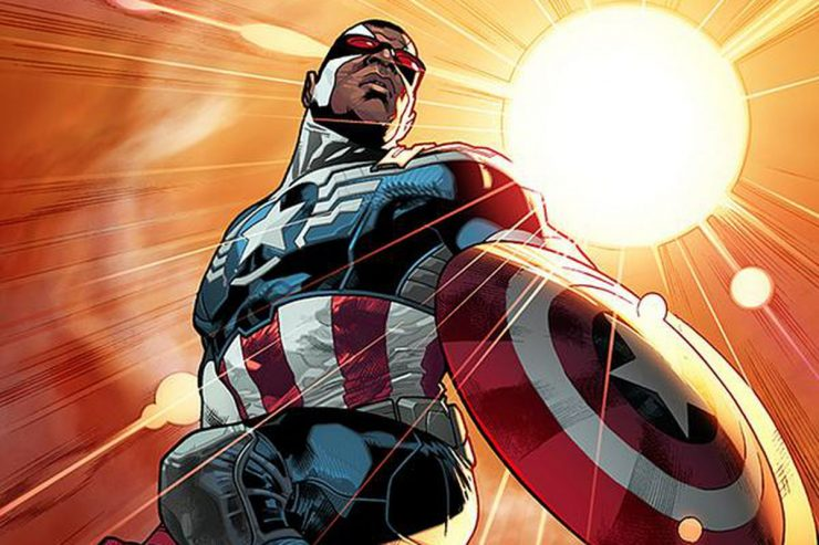 Sam Wilson- Who Has Held the Shield?