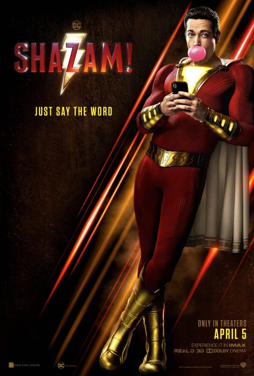 Warner Bros. Releases New Shazam! Teaser Trailer