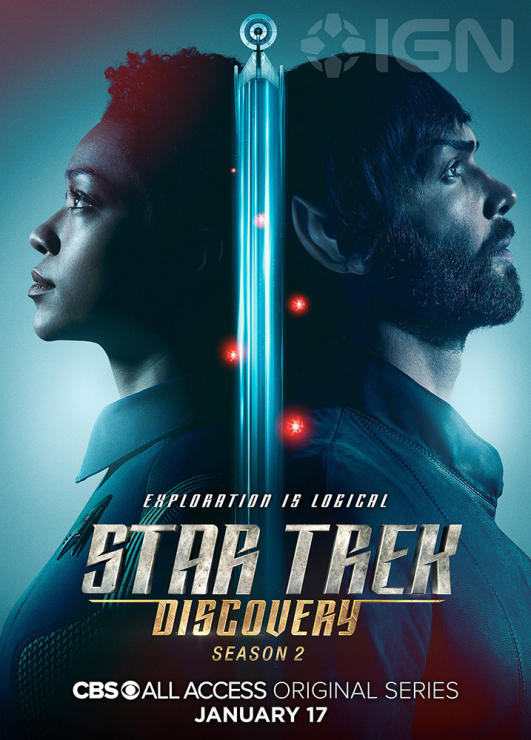 CBS Debuts Star Trek: Discovery Season 2 Character Posters
