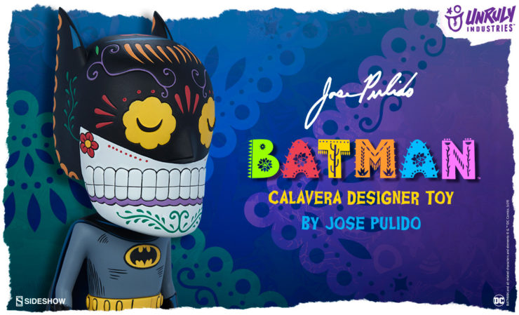 Unruly Industries Batman Calavera Designer Toy