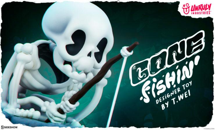 Unruly Industries Gone Fishin' Designer Toy