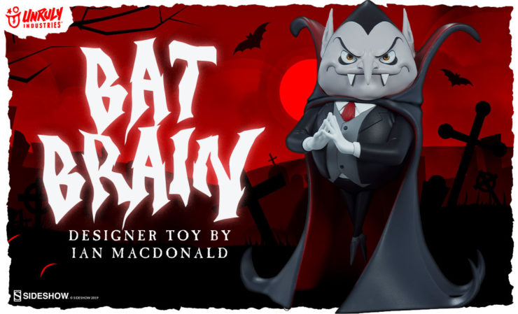 Unruly Industries Bat Brain Designer Toy
