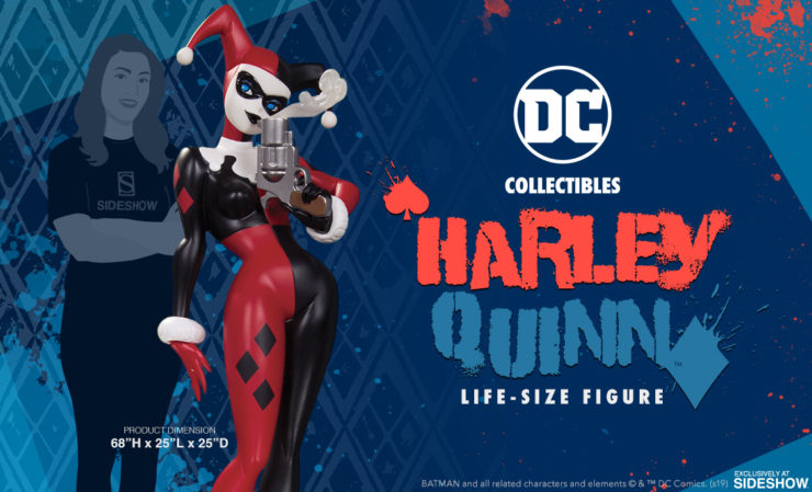 DC Collectibles Harley Quinn Life-Size Figure