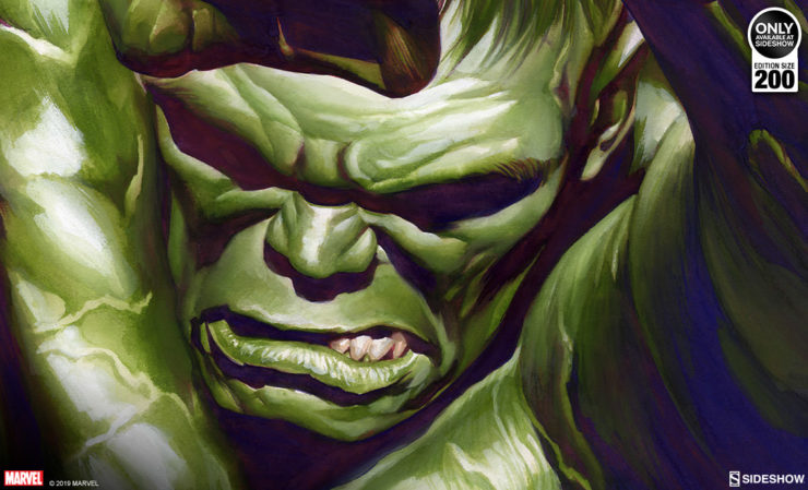 Alex Ross The Omega Hulk Fine Art Lithograph