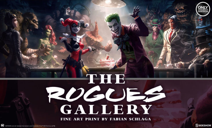 The Rogues Gallery Fine Art Print