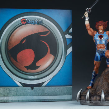 Lion-O Statue- ThunderCats Collection