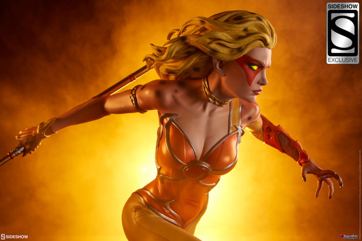 The Cheetara Statue Charges into Sideshow's Thundercats Collection!