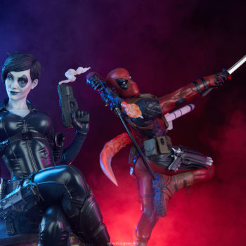 Domino Marvel Collectible Deadpool Statue
