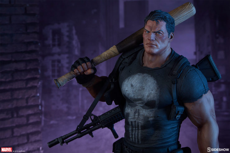 The Punisher Premium Format™ Figure Serves Vigilante Justice to Your Collection