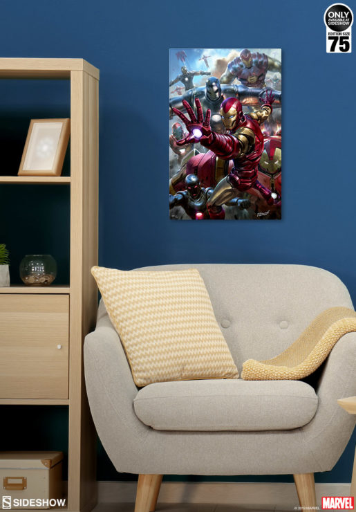 House Party Protocol HD Aluminum Metal Fine Art Print by artist Derrick Chew