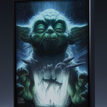 Luminous Beings Are We Gallery Wrapped Canvas by Fabian Schlaga