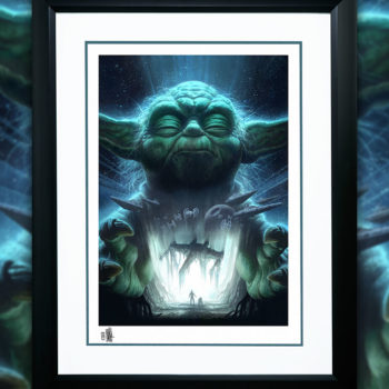 Luminous Beings Are We Fine Art Print by Fabian Schlaga