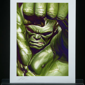 The Omega Hulk Fine Art Lithograph by Alex Ross