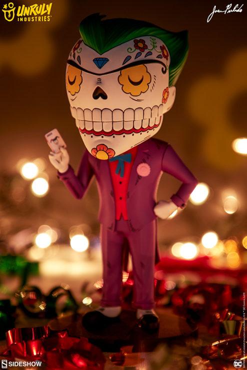 The Joker Calavera by Jose Pulido- Unruly Industries