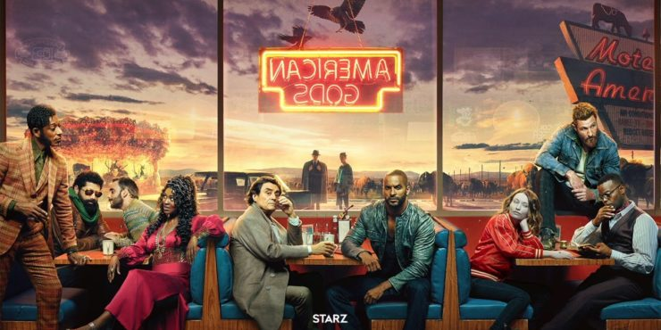 Starz Teases Return of American Gods Season 2