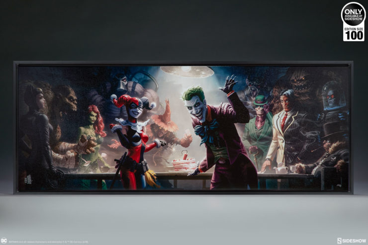 The Rogues Gallery Wrapped Canvas by Fabian Schlaga