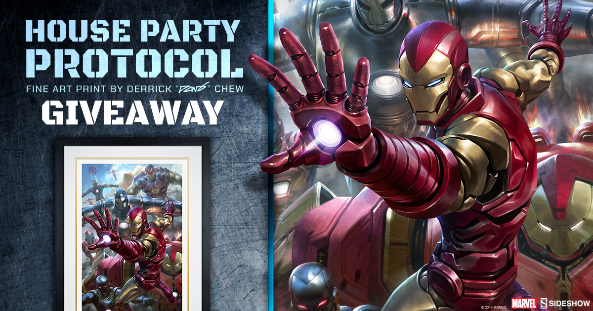 House Party Protocol Fine Art Print Giveaway