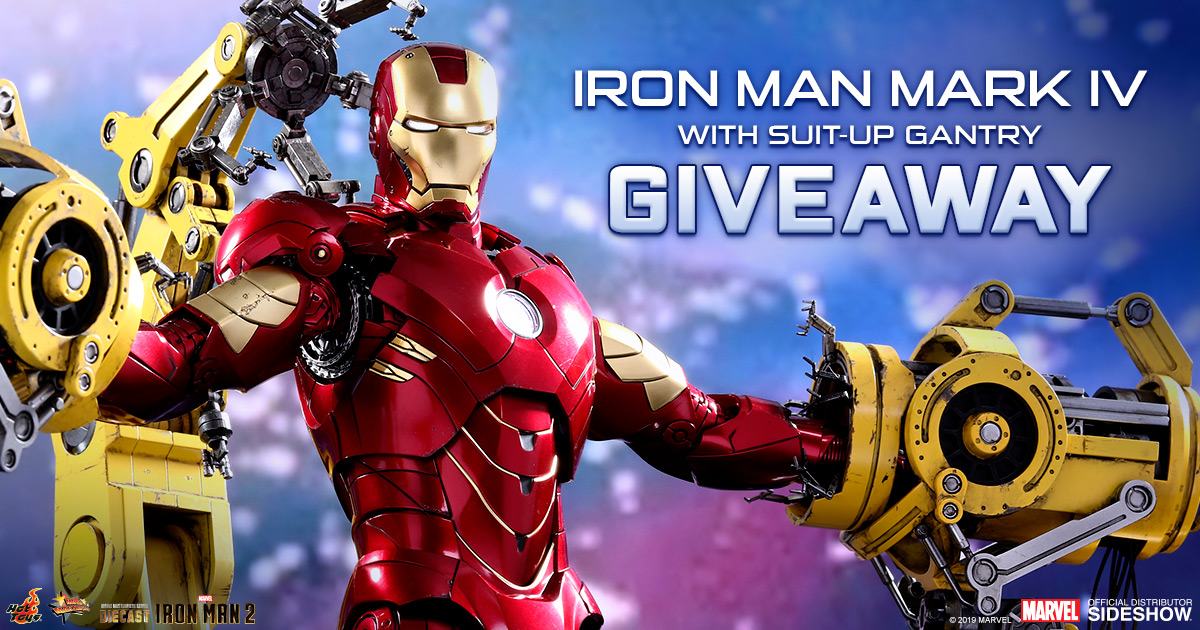 Iron Man Collectible Set Sweepstakes!