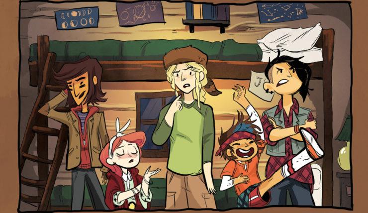 Lumberjanes- Top 10 Girl Groups in Comics