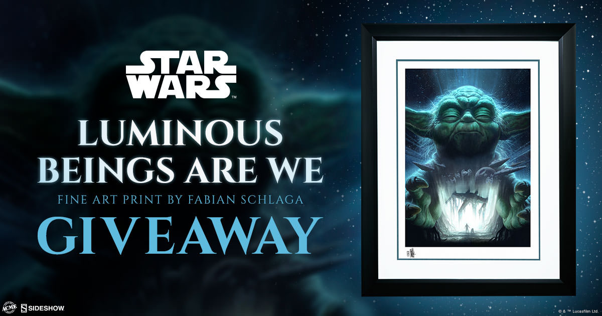 Luminous Beings Are We Fine Art Print Giveaway