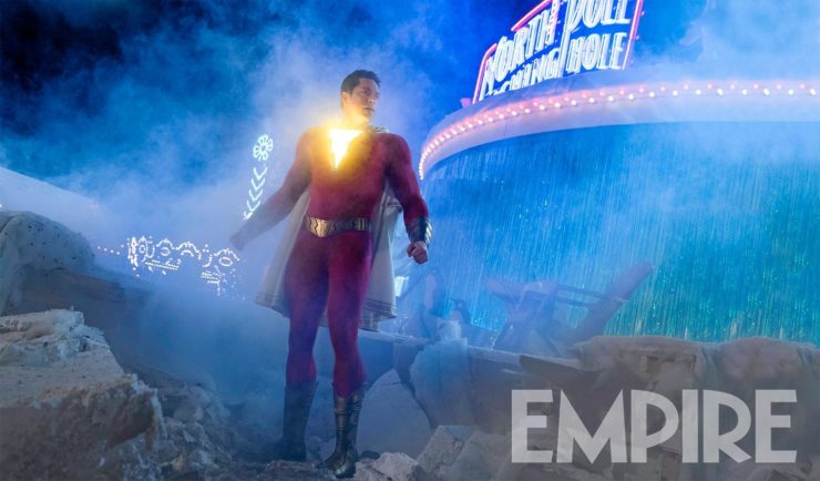Empire Magazine Releases New Shazam! Pic