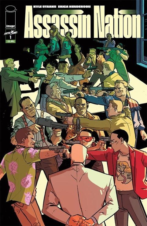 Assassin Nation- Top 10 Comics to Read in 2019