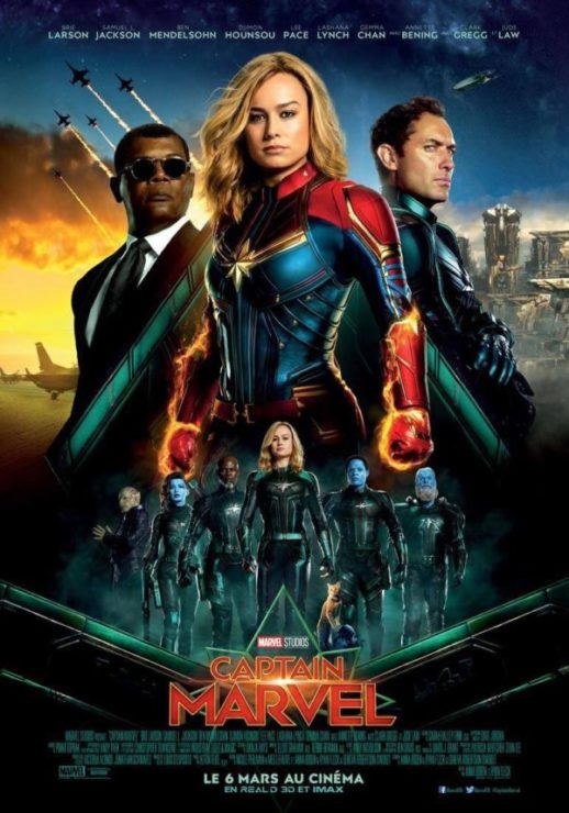 Captain Marvel Stands Tall in New International Poster