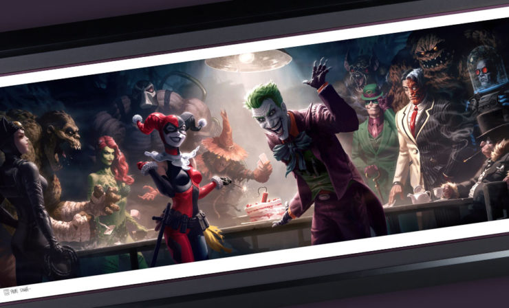 Bring Home Batman's Baddies with The Rogues Gallery Fine Art Print and Gallery-Wrapped Canvas