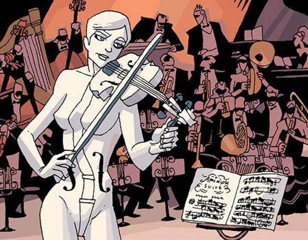 The White Violin- Umbrella Academy
