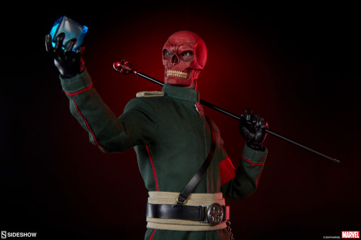 The Red Skull Sixth Scale Figure Will Conquer Your Marvel Collection