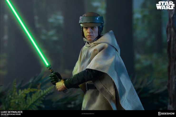 The Force is Strong with New Photos of the Luke Skywalker Sixth Scale Figure