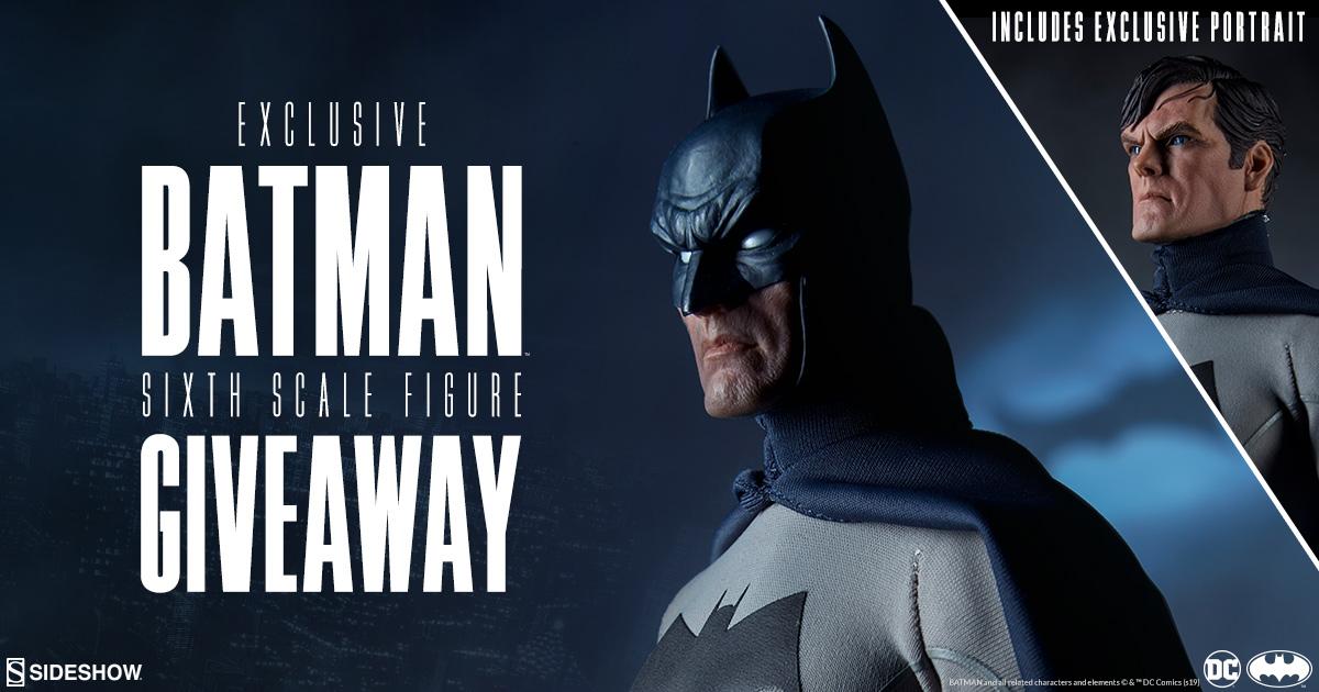 Sideshow Newsletter Batman Figure Giveaway