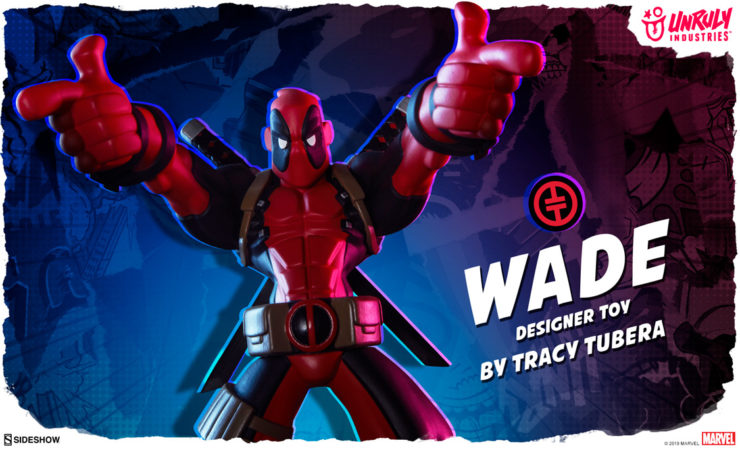 Unruly Industries Wade Designer Toy