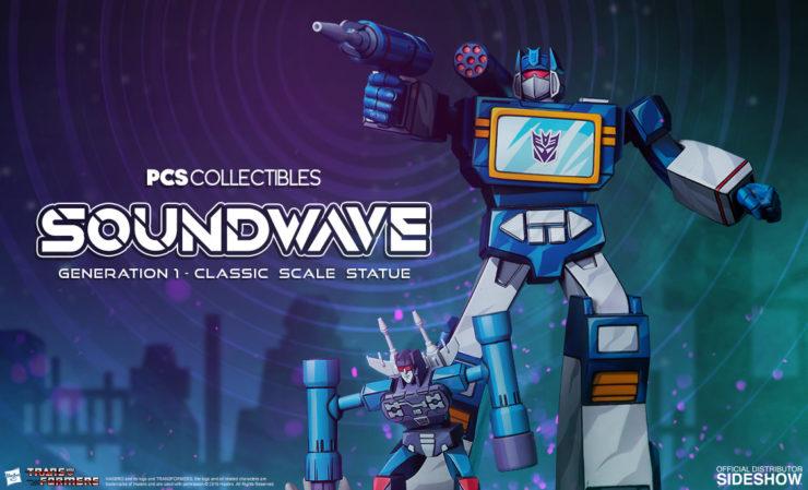 PCS Soundwave Statue