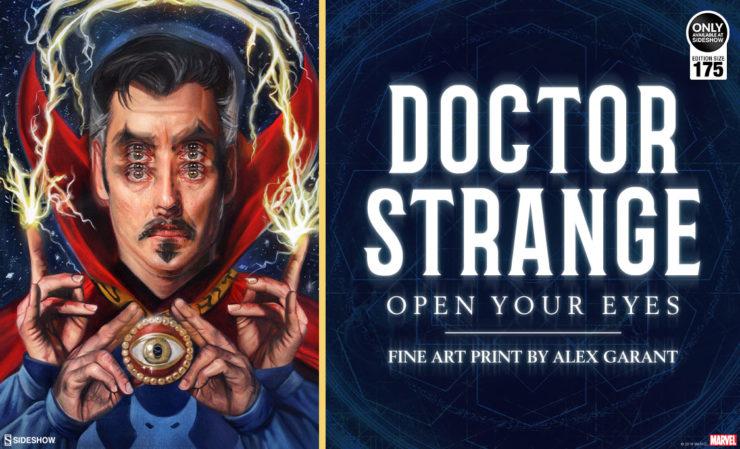 Doctor Strange: Open Your Eyes Fine Art Print