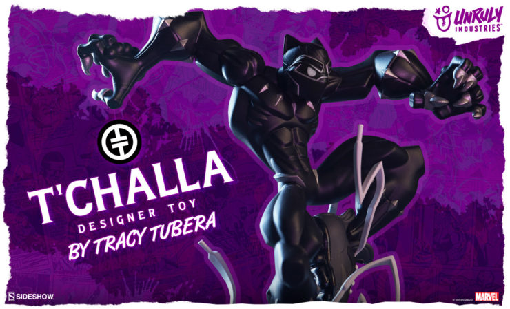 Unruly Industries T'Challa Designer Toy
