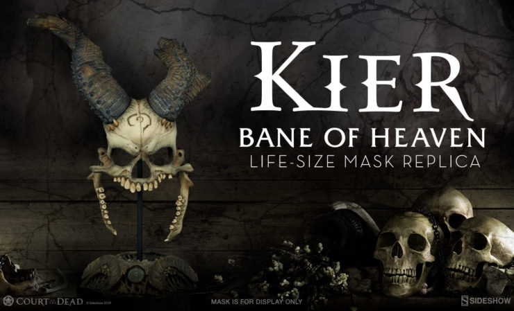 Kier: Bane of Heaven Life-Size Mask Replica