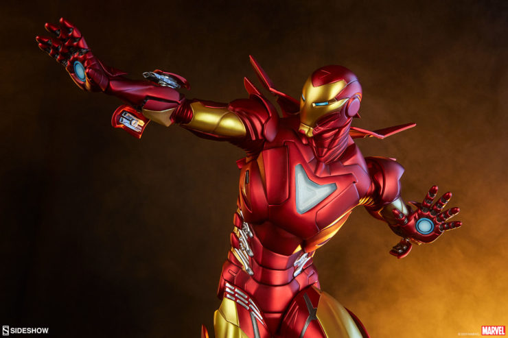 New Photos of the Iron Man Extremis Mark II Statue- Adi Granov Artist Series- Are Ready to Launch