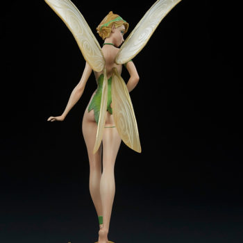 Tinkerbell Statue Back View Wings