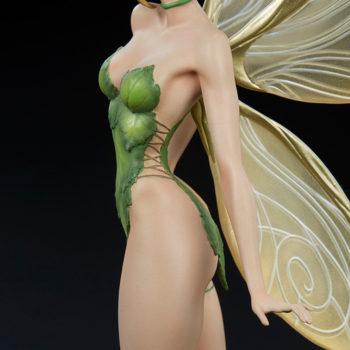 Tinkerbell Statue Dress Detail