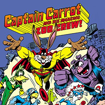 Captain Carrot and the Zoo Crew- Top 10 Comic Book Captains