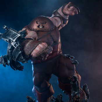 Sideshow's Juggernaut Maquette Front View Drama Shot