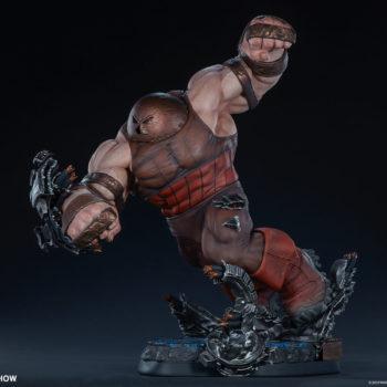 Sideshow's Juggernaut Maquette Side View