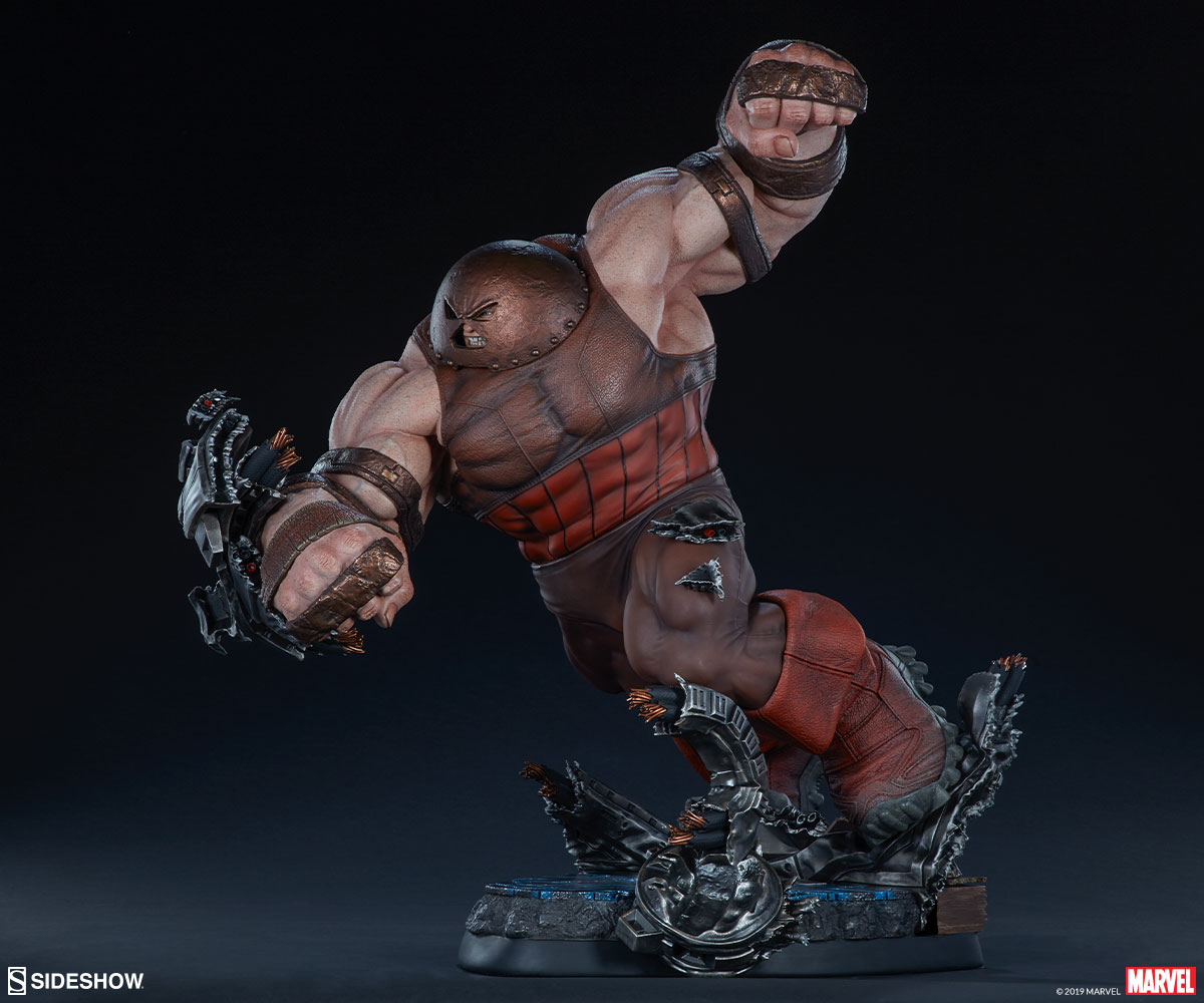 Here Comes The Unstoppable Juggernaut Maquette Sideshow