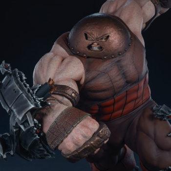 Sideshow's Juggernaut Maquette Closeup Portrait